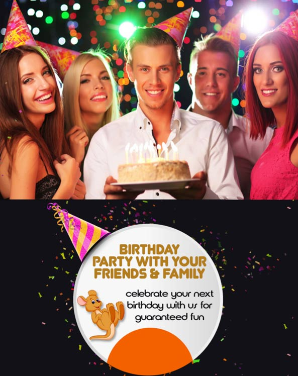 Celebrate Your Birthday at Bounce Bounce Park!