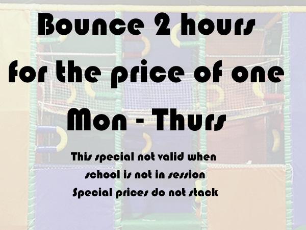 2 hour bounce
