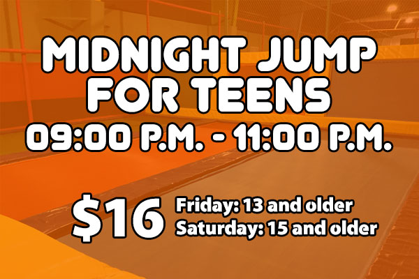 Midnight Jump for Teens