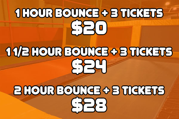 Bounce Hour Special